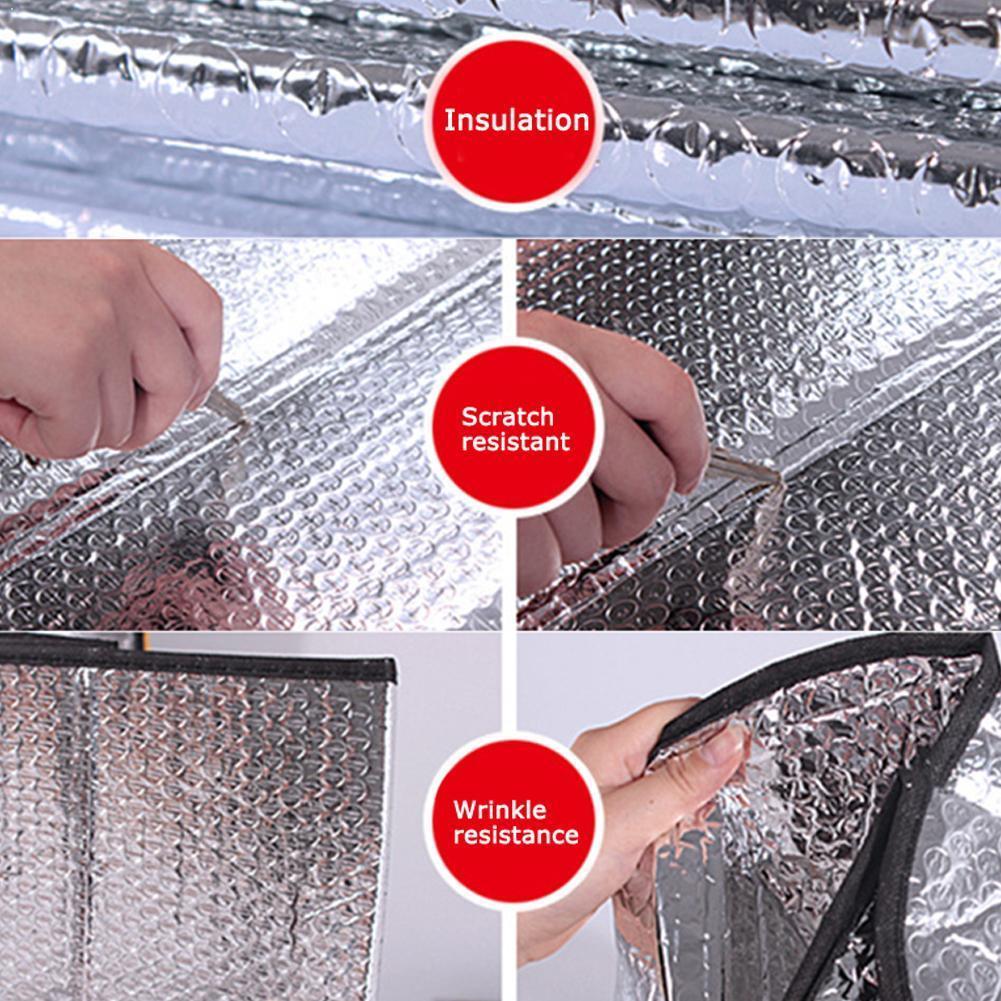 Universal Car Window Sunshade Sun Shade Visor Windshield Sun Ice Protected Shades Anti Rear Accessories Cover UV Car F P7R6