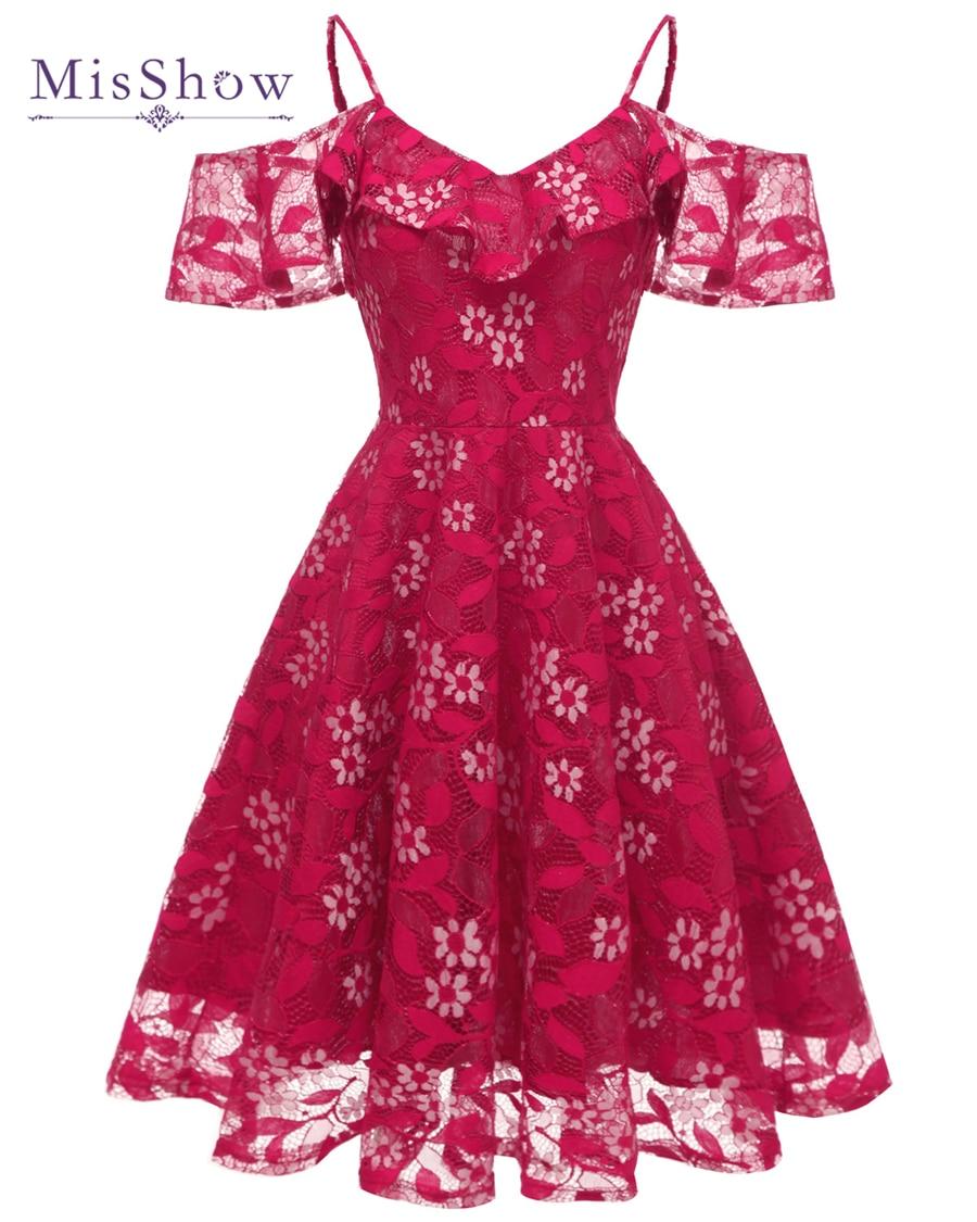 SALE vestido de Cocktail Dresses 2021 Knee Length Pink Lace Short Formal Party Gown Spaghetti Strap Sleeveless robes de cocktail