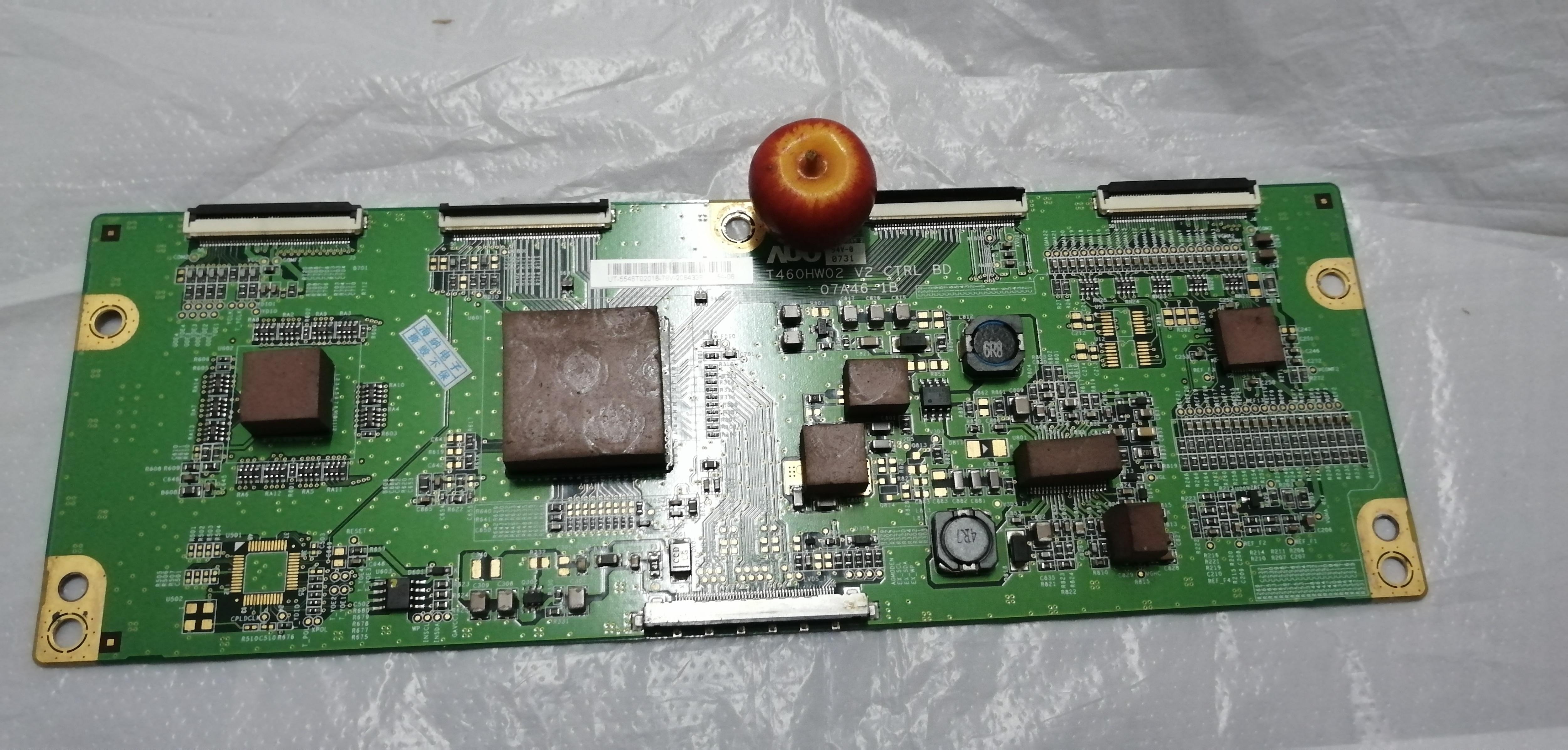 Placa LCD T460HW02 V2 07A46-1B placa lógica conectar con placa de conexión T-CON