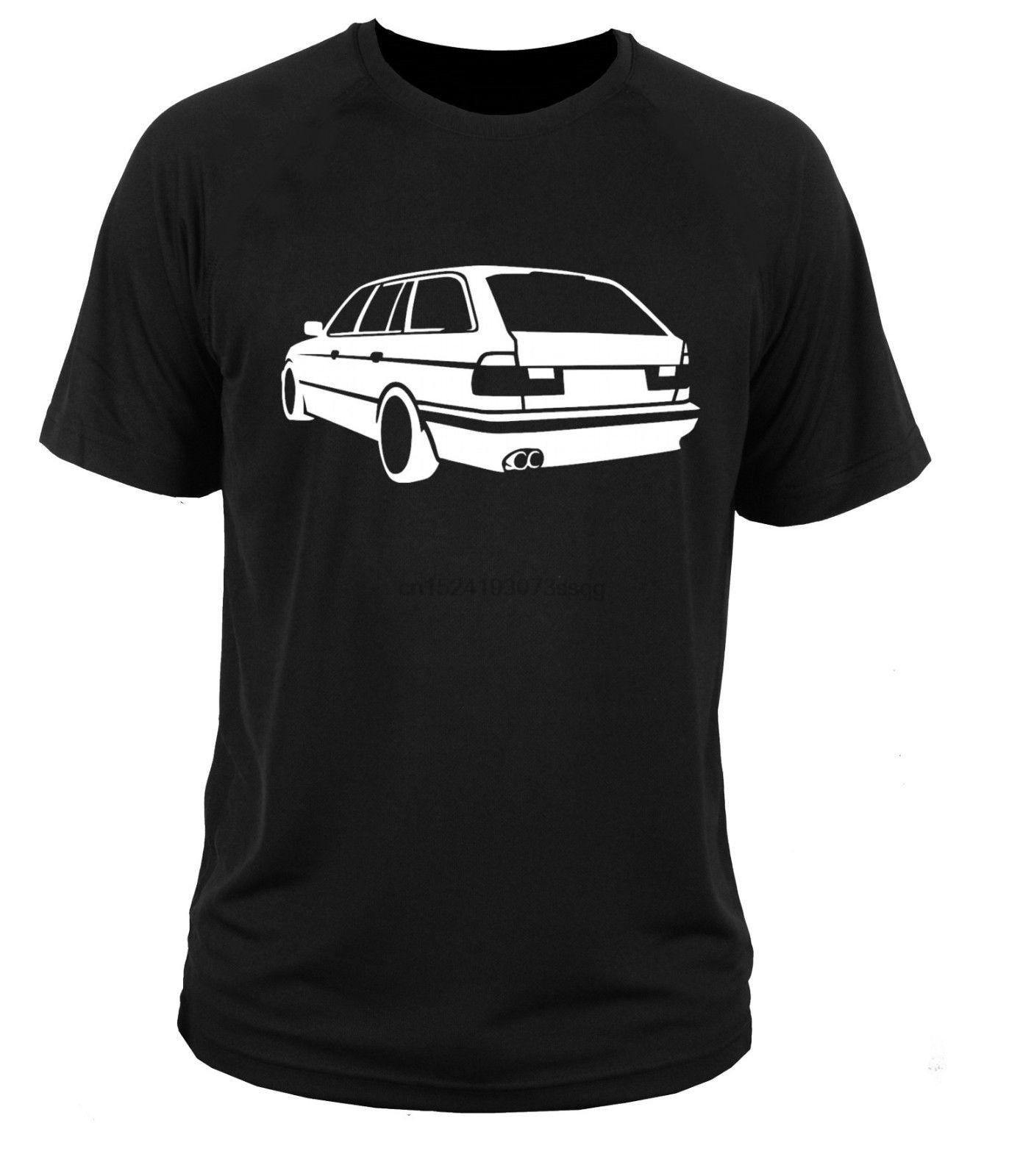 Camiseta de manga corta 2019 de algodón para hombre, camiseta E34 Touring Kobi Alemania, camiseta Vintage para coche