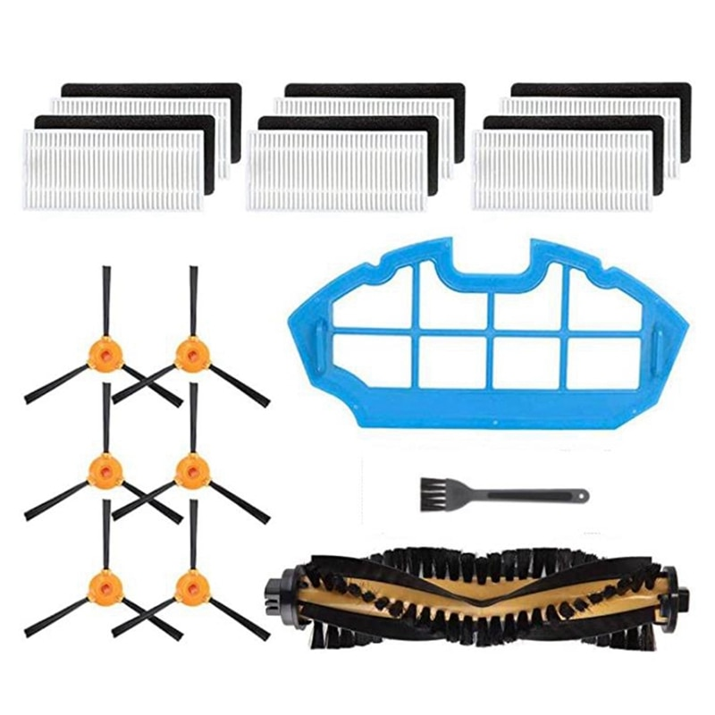 Replacement Parts Accessories Kit for Ecovacs DEEBOT N79 N79S DN622 500 N79W, Yeedi K600 K700 Robotic Vacuum Cleaner