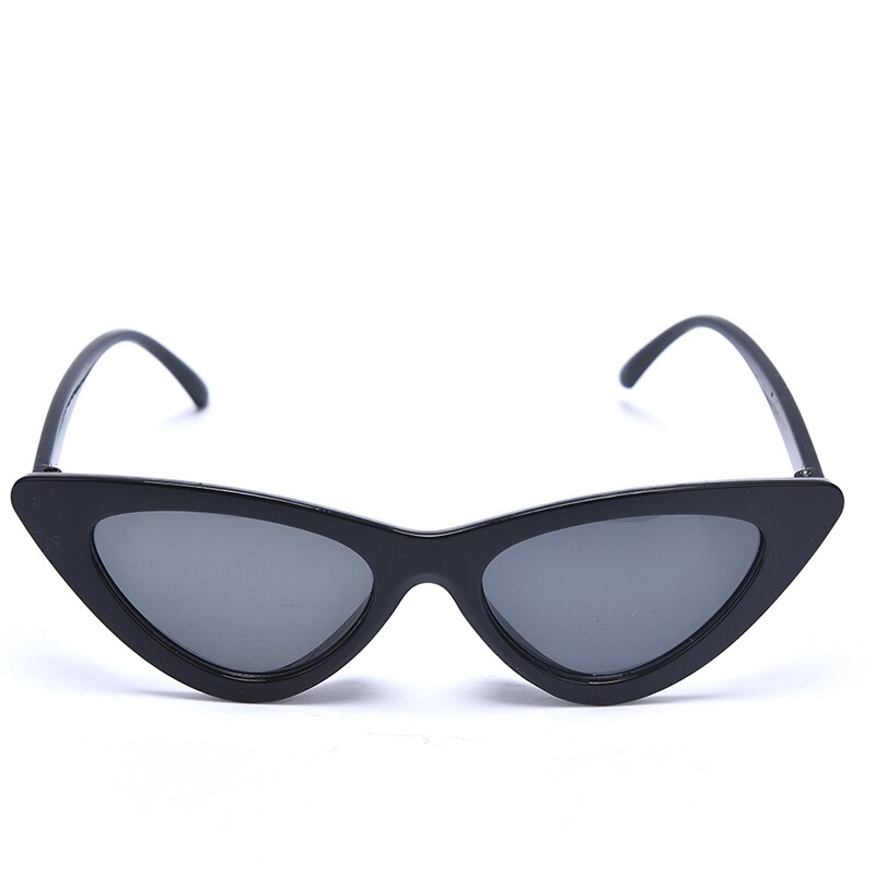 Small Black Transparent Pink Triangle Vintage Cheap Sun Glasses Red Female Uv400 Cute Sexy Retro Cat