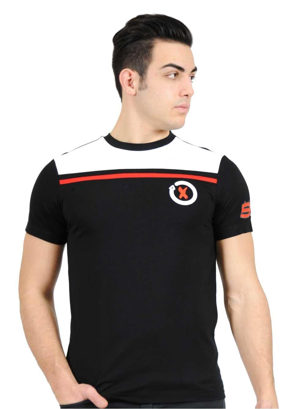 Camiseta de Moto gp locomotora de carreras Jorge Lorenzo 99 de algodón para Motocross de manga corta para hombre