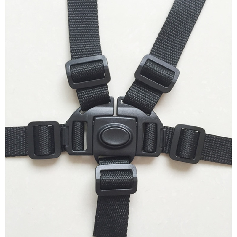 Universal Baby 5 Point Harness Safe Belt Seat Belts For Stroller High Chair Pram Buggy Children Kid