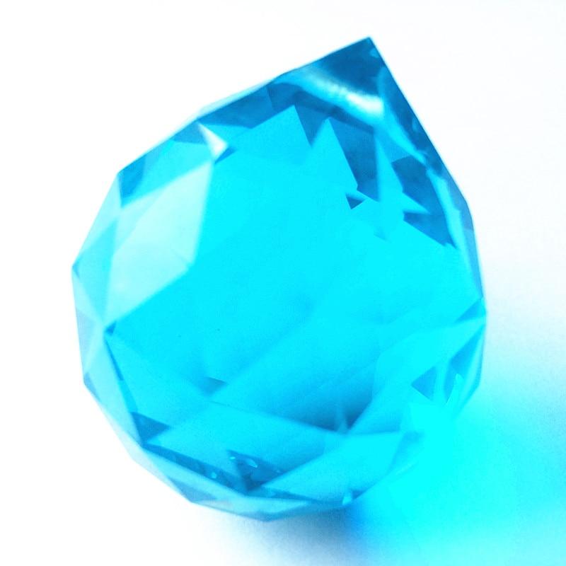 Free rings+2PCS/lot Sparkle Aqua crystal chandelier pendants/ crystal curtain pendants ,crystal Glass chandelier parts