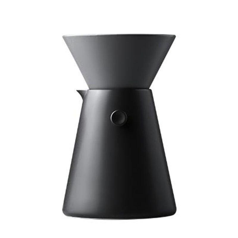 طقم أواني قهوة سيراميك V60, طقم أواني شاي سيراميك منزلية كوب مرشح القهوة نوع بالتنقيط V60 إسبرسو دورق أدوات القهوة