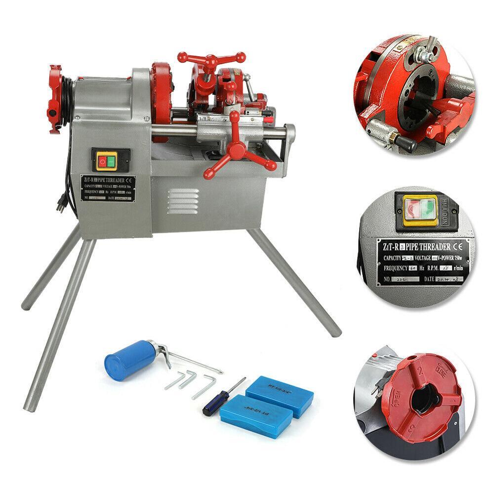 110V 750W Electric Pipe Threader Machine (1/2