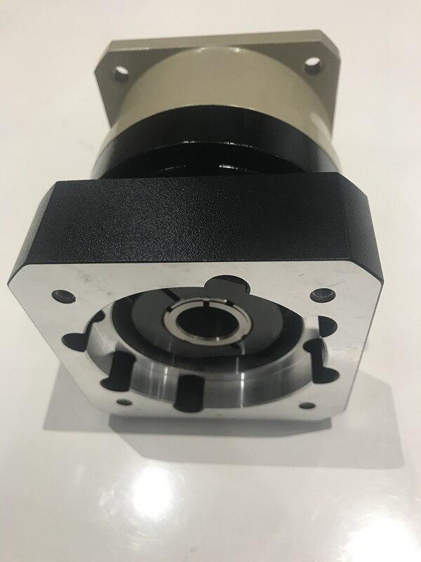 مخفض التروس الحلزونية ، علبة التروس الكوكبية ، 3:1 إلى 10:1 لـ 80 مللي متر ، 750 واط ، عمود إدخال محرك مؤازر AC 19 مللي متر