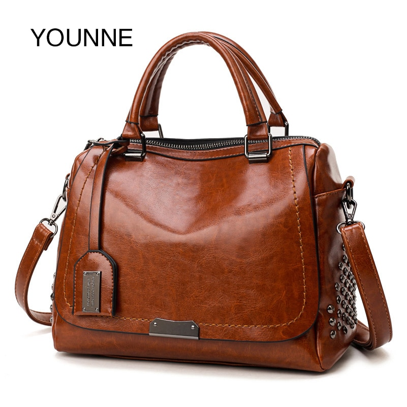 YOUNNE-حقيبة يد كلاسيكية فاخرة للنساء ، حقيبة كتف ذات سعة كبيرة ، حقيبة سهرة أنيقة مع برشام