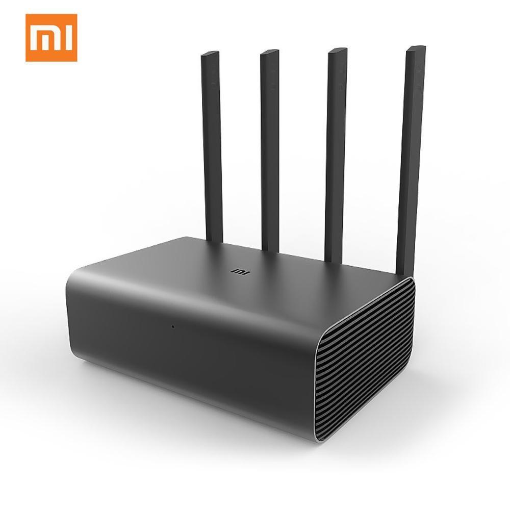 Xiao mi mi roteador pro r3p 1733 mbps wi-fi wi fi inteligente sem fio wifi roteador 4 antena banda dupla 2.4 ghz 5.0 ghz wi-fi dispositivo de rede