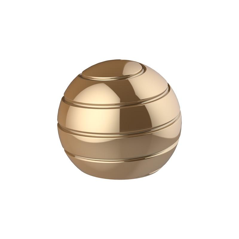 Hot BYGLTY Alloy Anti Stress Fidget Toys Desktop Ball Fidget Spinner Stress Reliever Toys Figet Toys for Adult enlarge