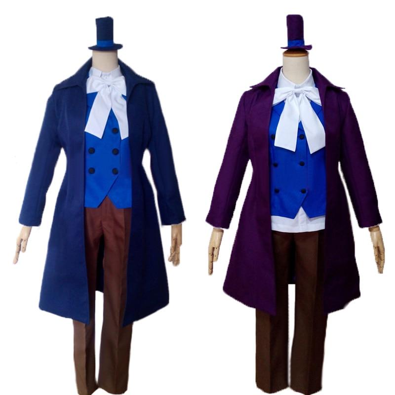 Axis Powers Hetalia APH Poker Spade Inglaterra Arthur Kirkland Anime personalizado uniforme Cosplay traje disfraces de Halloween