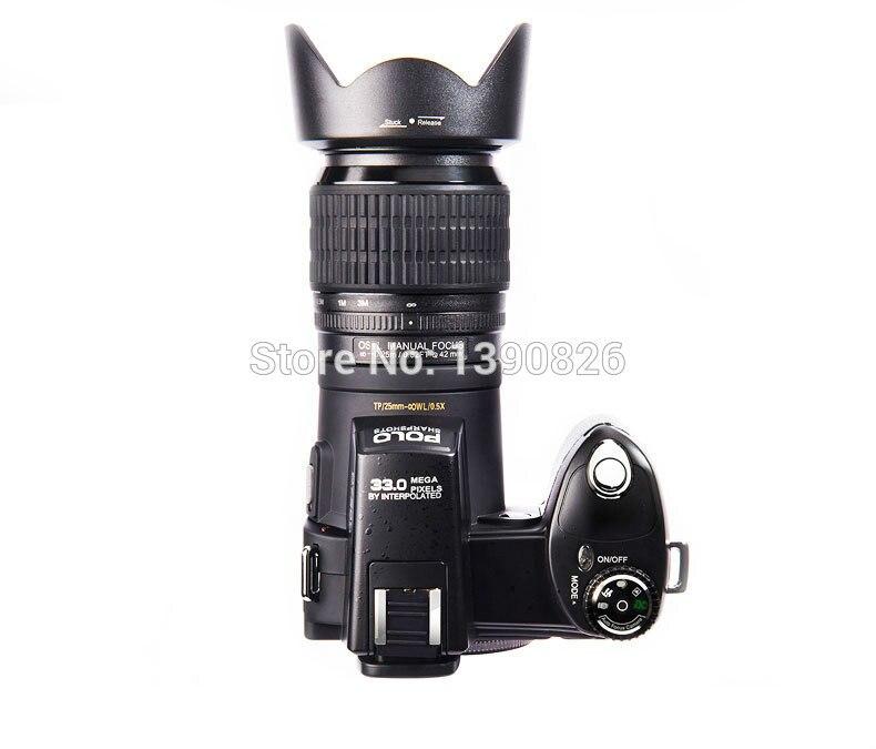 Cámara Digital Protax D7100 13MP CMOS 3,0 pulgadas TFT LCD cámara Digital 24X Zoom óptico cámaras digitales con faro LED