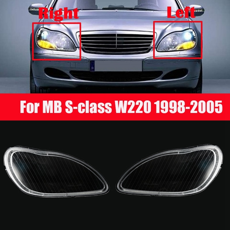 Крышка для передней фары Mercedes-Benz S-Class W220 1998-2005