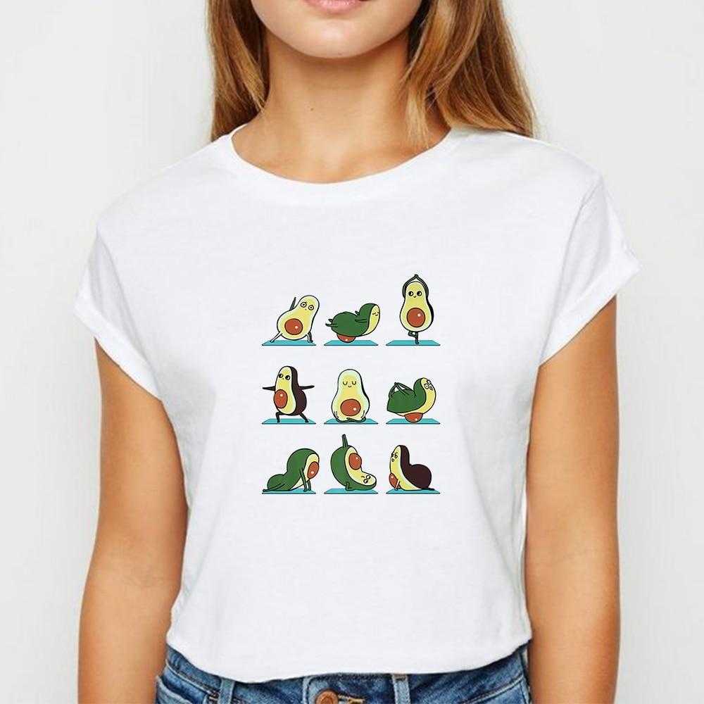 Женская футболка большого размера с круглым вырезом и графическим принтом