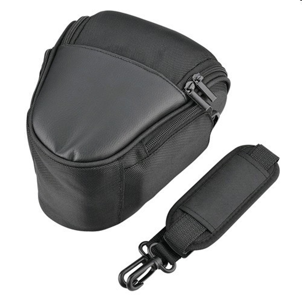Купить с кэшбэком Nylon Camera Waterproof Bag Soft Carrying Case Bag For Canon EOS For Nikon D5200 D5100 Digital Camera Storage Bag