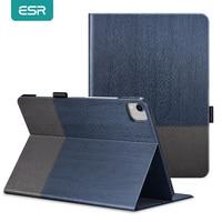 Чехол ESR для iPad Pro 12.9, чехол 2020 из ткани Оксфорд, задняя крышка с функцией автоматического сна/пробуждения, умный чехол для iPad Pro 2020 11 12.9, чехол