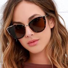 Fashion Cat Eye Sunglasses Women Luxury Brand Designer Vintage Gradient Glasses Retro Cat eye Sun gl