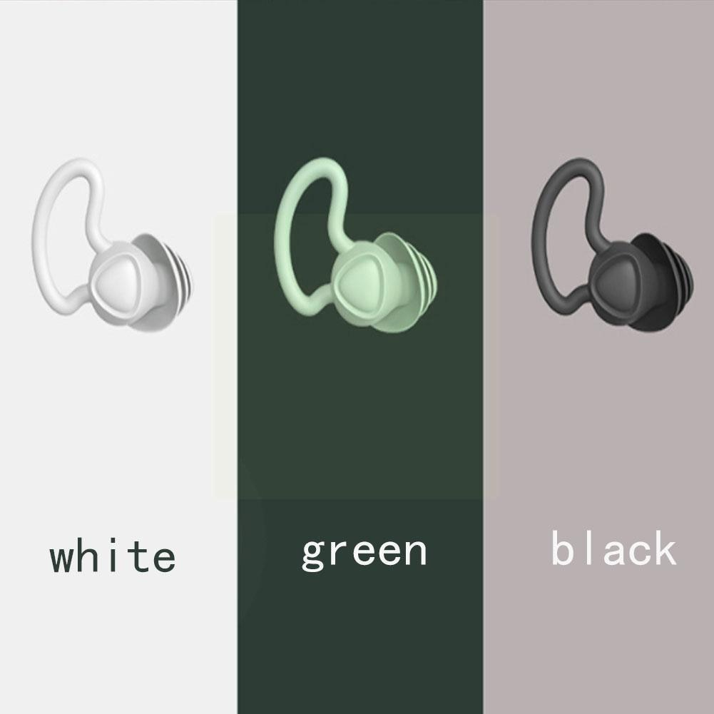беруши fashy silicon ear plugs for self forming Professional Silicone Sleeping Ear Plugs Anti Snoring Sound Accessories Ear Insulation Anti-Noise Travel Soft Plugs Ear Spo P6P9