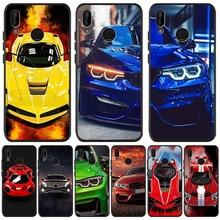 Voiture luxe garçon pour Huawei P8 P10 P20 P30 Mate 10 20 Honor 8 8X 8C 9 V20 20i 10 Lite Plus Pro housse Coque Etui Funda capa