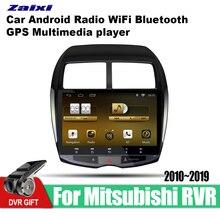 ZaiXi için araba gps multimedya oynatıcı Mitsubishi RVR 2010 ~ 2019 araba Android navigasyon radyo video ses çalar stereo ses wifi