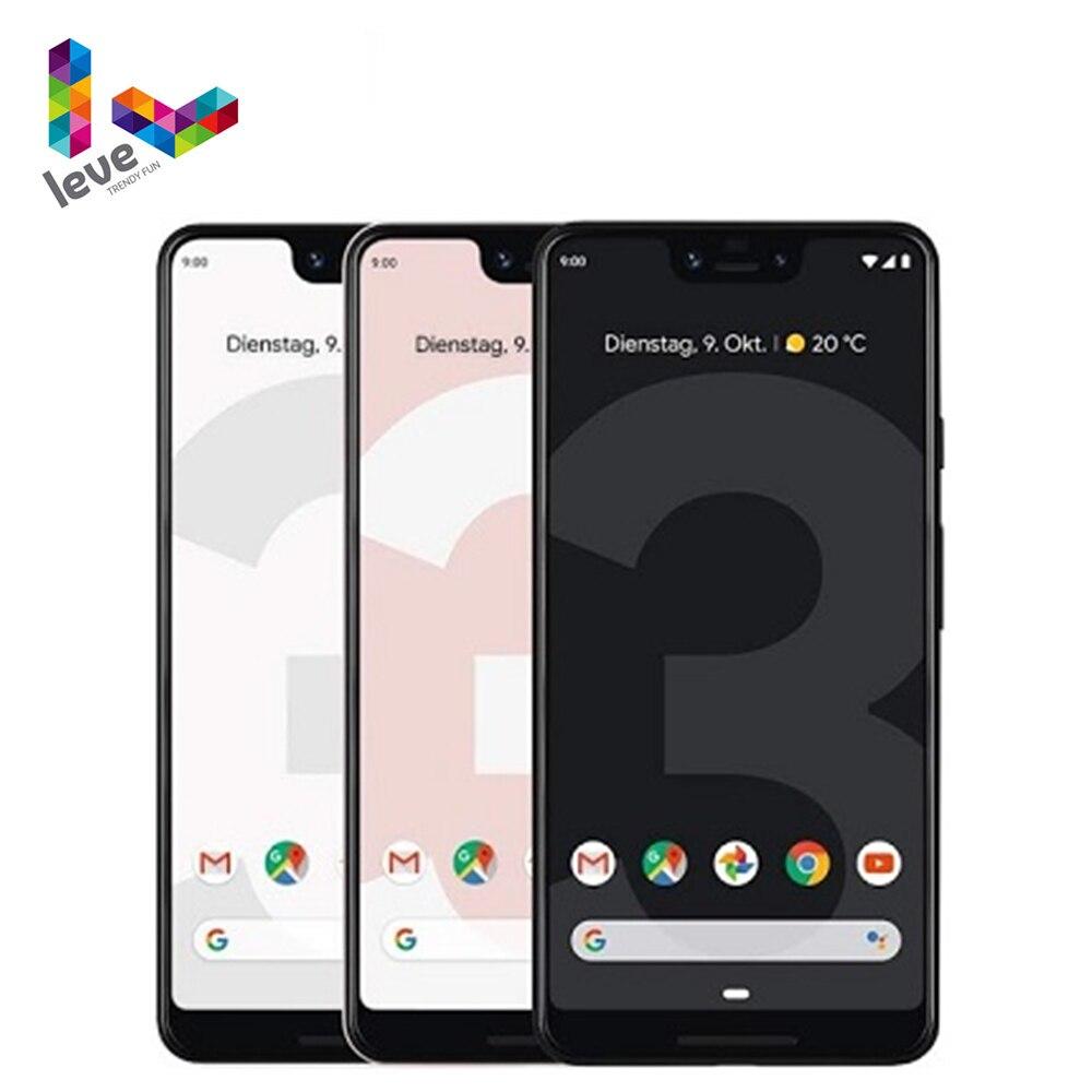 Разблокированный США Версия Google Pixel 3 XL 3XL мобильный телефон 6,3 дюйм 4 Гб Оперативная память 64 ГБ и 128 ГБ Встроенная память 12MP Octa Core 4 аппарат не прив...