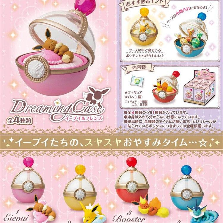 Bolas de elfo para mascotas, juguetes de Pokeball de bolsillo con forma de monstruo, muebles para el dormitorio, regalo para niños