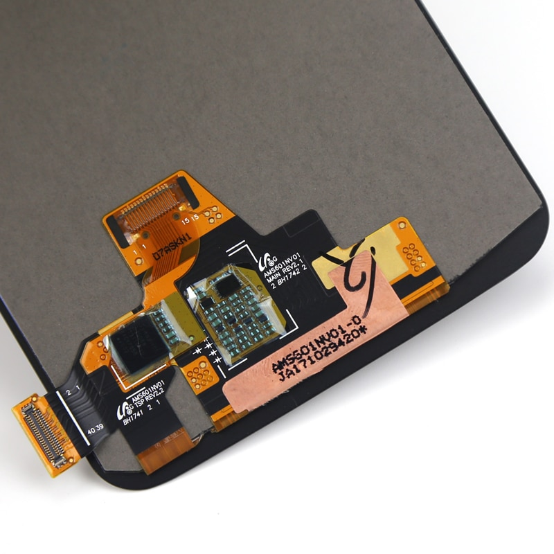 6 Inch 2160x1080 Black Touch Screen Panel For Oneplus 5T A5010 LCD Display Digitizer Assembly Cellphone Repair Replacement Parts enlarge