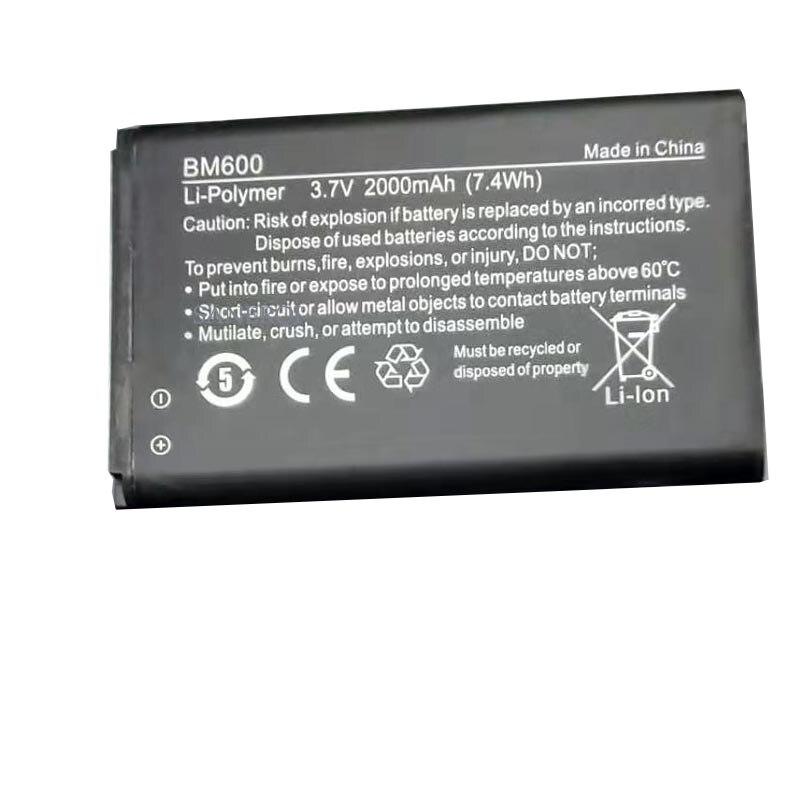 Аккумулятор 2000 мАч для NUBIA WD660 6BT-R600A-0006 BM600