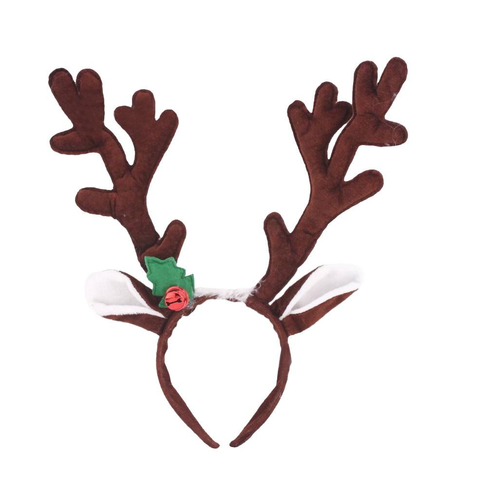 Rena natal bandana chifres cosplay chifres cervos orelhas acessórios para cabelo para adultos ofertas faixa de cabelo fecho headwear 1111