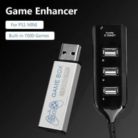 new 128g game enhancer source simulator expansion pack built in 7000 games for ps1 mini dn game box accessories nintendo