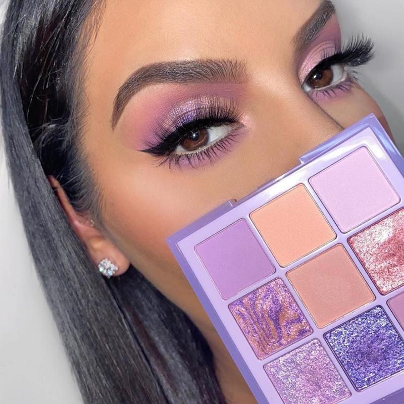 9 colores paleta de sombra de ojos holográfico brillante mate brillo pigmento paleta de sombras para ojos metálico resistente al agua fácil de difuminar TSLM1