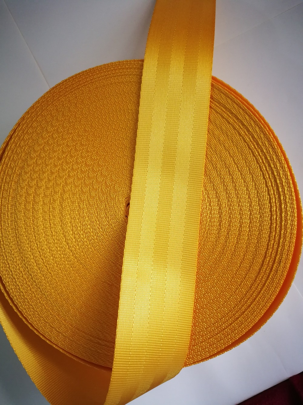XIMOOR 4-36Meter Yellow Car Seat Belt Webbing Universal Car Personalized Modification Seat Belt Webbing Car Accessories