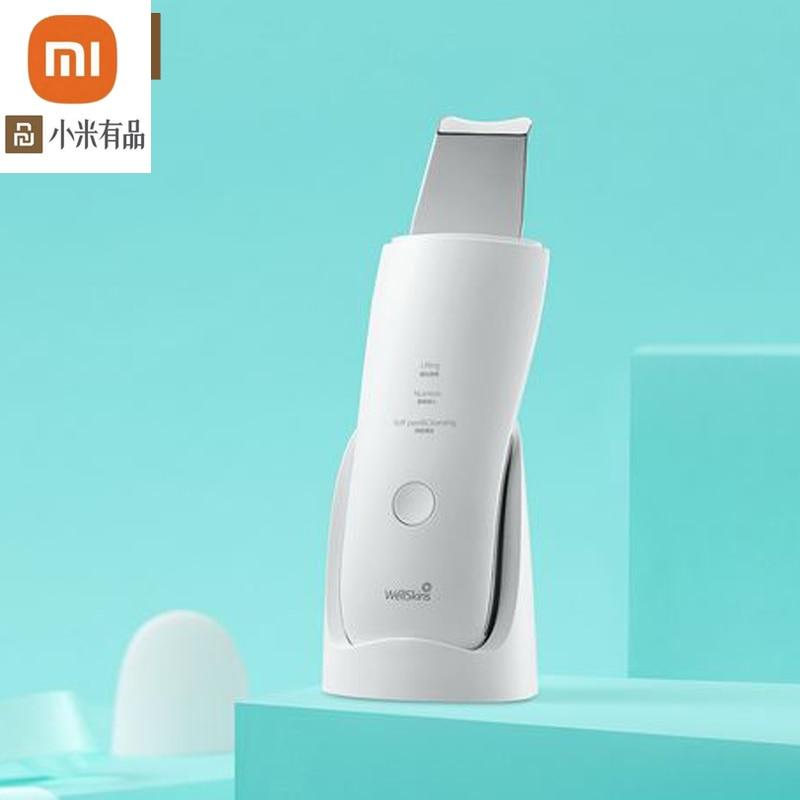 جديد جهاز تنظيف بشرة الوجه بالموجات فوق الصوتية من شاومي جهاز تنظيف عميق للوجه لإزالة الرؤوس السوداء جهاز تنظيف قابل لإعادة الشحن