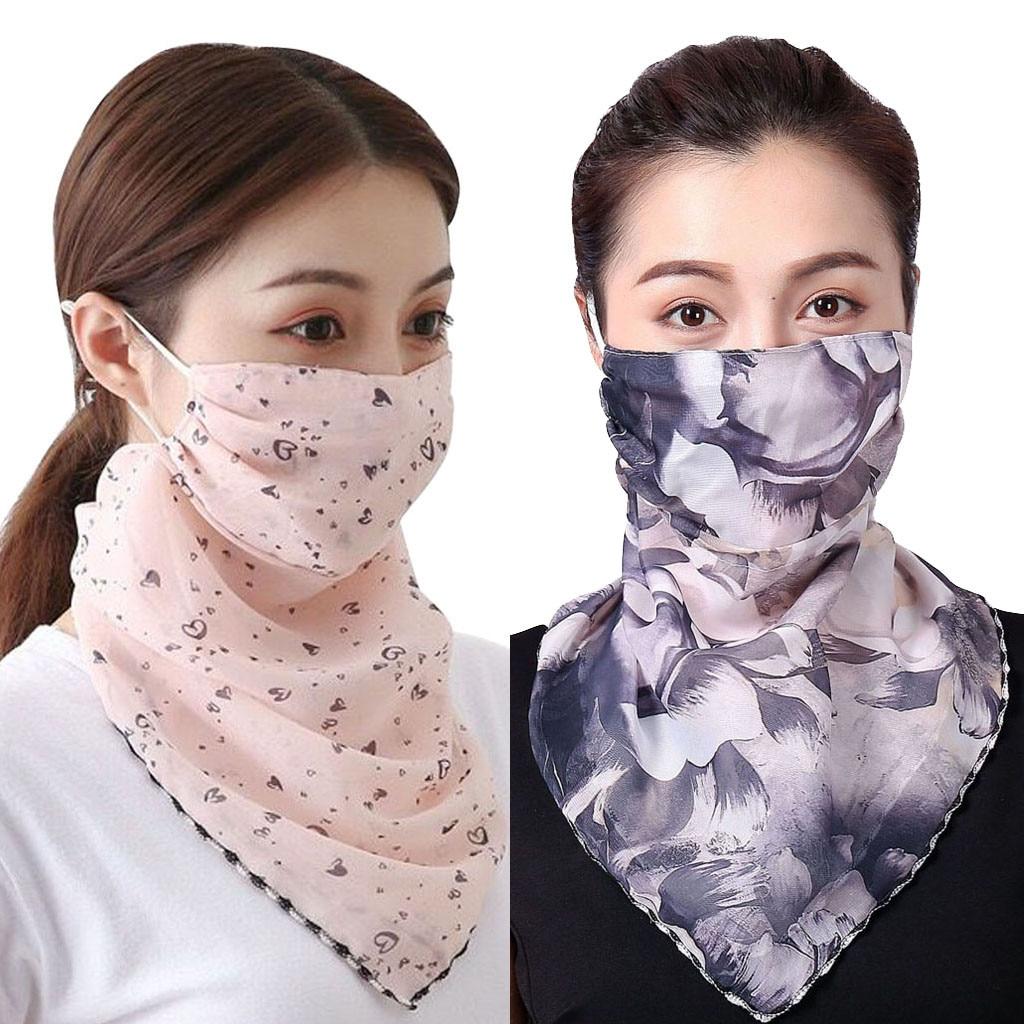 Моющиеся маски scraf для лица 2020 Модный женский солнцезащитный шарф с принтом пыленепроницаемый шарф для шеи маска foulard exterieur