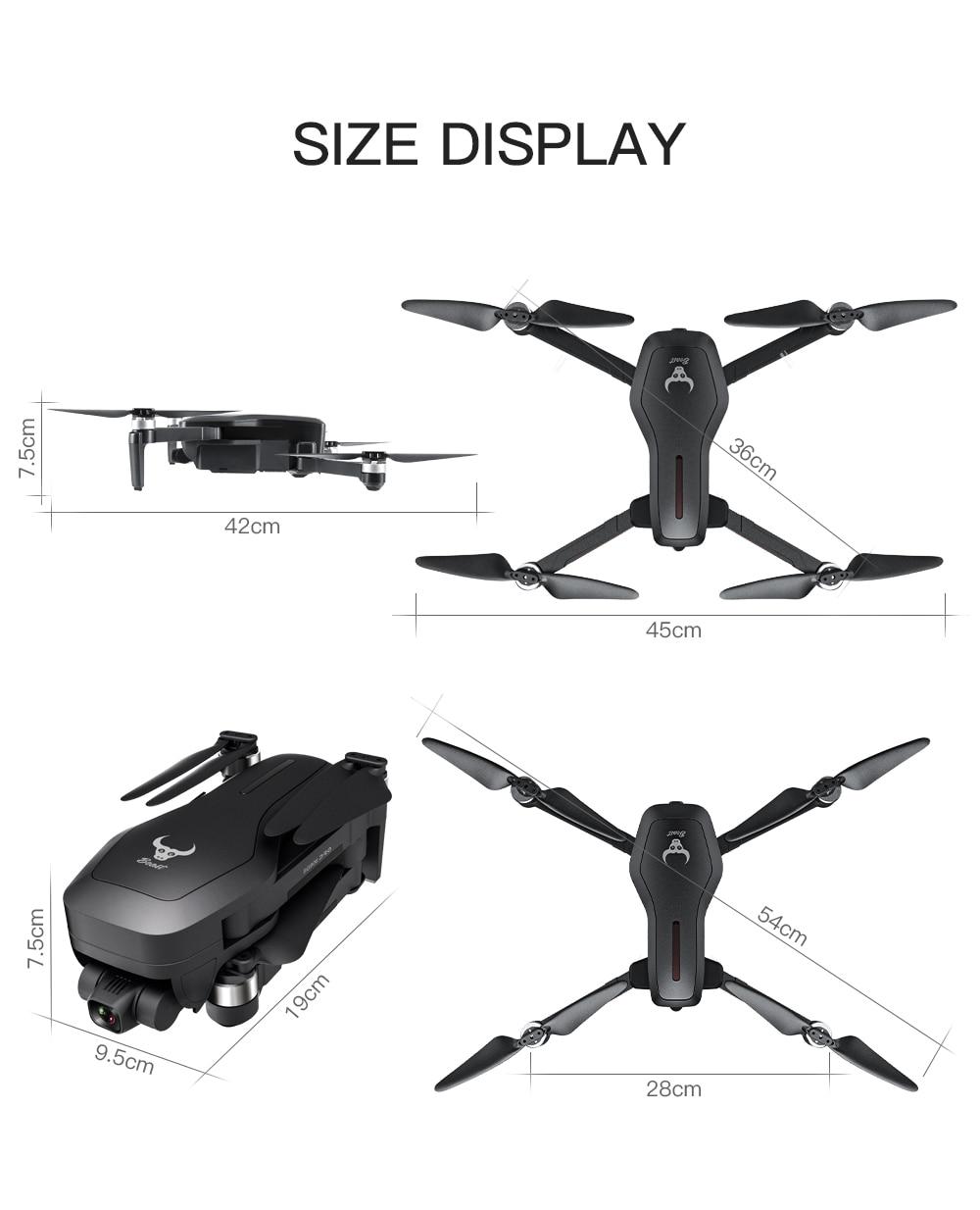 2020 nova sg906 pro 2 zangão 4k hd câmera mecânica cardan 5g wifi sistema gps apoio tf cartão drones distância 2km vôo 28 min