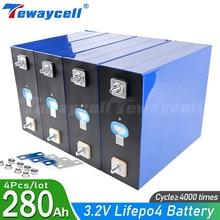 NEW 3.2V 280Ah 240Ah 200Ah lifepo4 battery 12V 24V 48V280AH Rechargeable battery pack for Electric car RV Solar Energy Tax Free