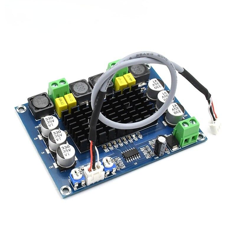 TPA3116 Dual Channel class D digital Power audio amplifier board 120W+120W stereo AMP DC 24V C3-002 tpa3116 audio amplifier board pbtl single dual channel power amplifier dc 12v 24v amp