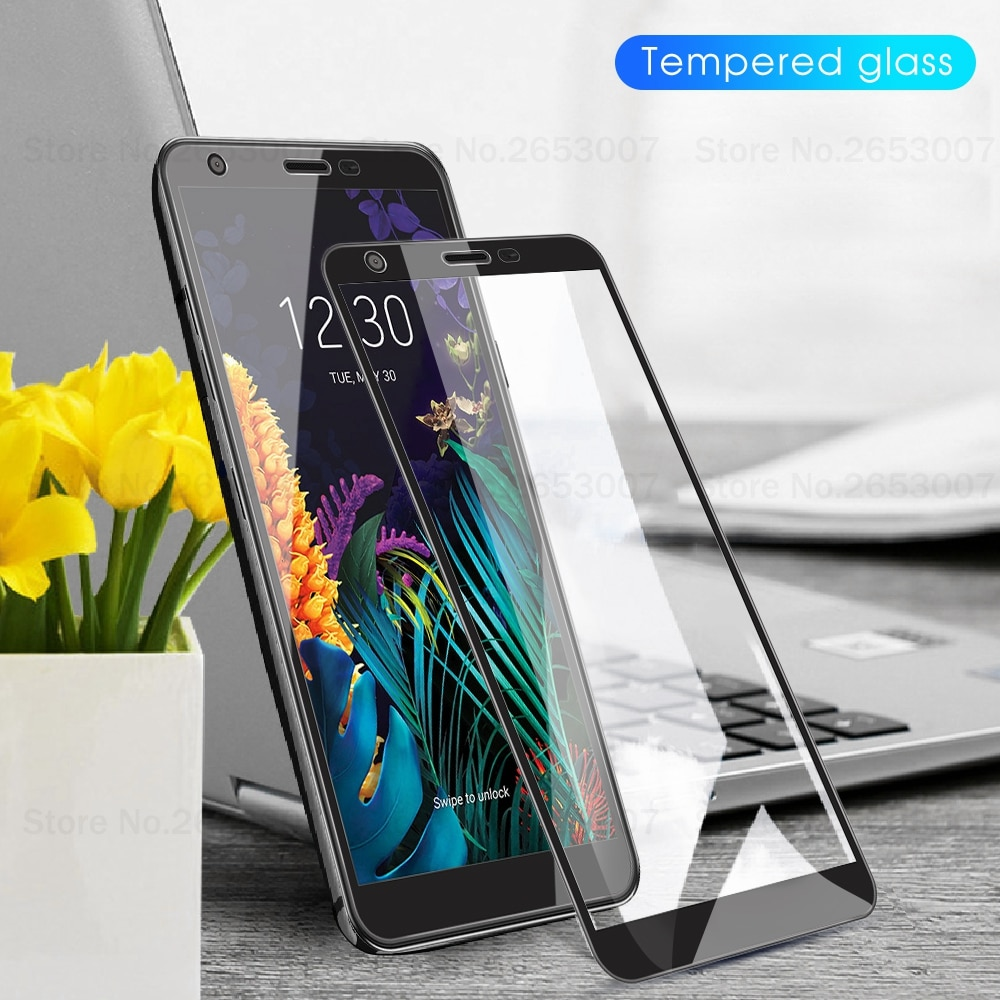 Para LG W30 K30 2019 K40S Q60 K50 K40 V50 V40 V30 más K40 G6 G8 G7 K11 2018 K10 K8 8 Protector de pantalla de cristal templado de vidrio cubierta de