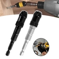 magnetic screw drill bit holder 14 quick change locking bits drive guide screw drill tool drill extension rod
