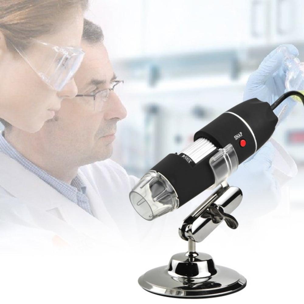 1600X Microscopio Digital electrónico HD USB estéreo para electronica Trinocular mega Cuerpo Femenino