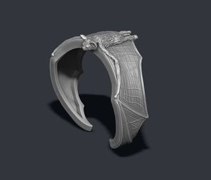 Bat Ring Made to Order Size on Needs