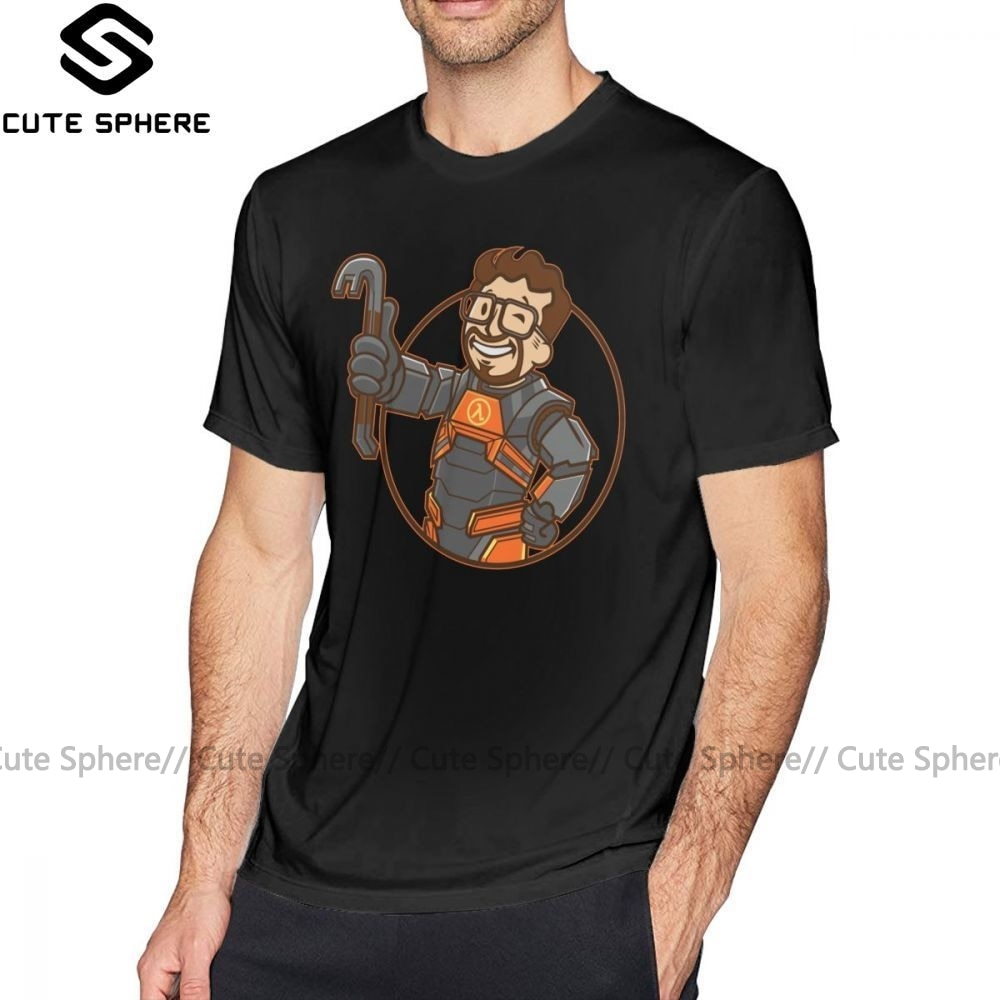Camiseta de Half Life Lambda camiseta de niño de Moda hombre Tee Camisa de algodón lindo de talla grande Camiseta de manga corta