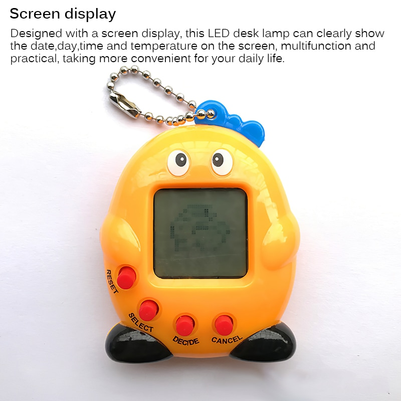 Newest Tamagotchi Electronic Pets Gift Keyring Pets Toys Gift Christmas Educational Funny 90S Nostal