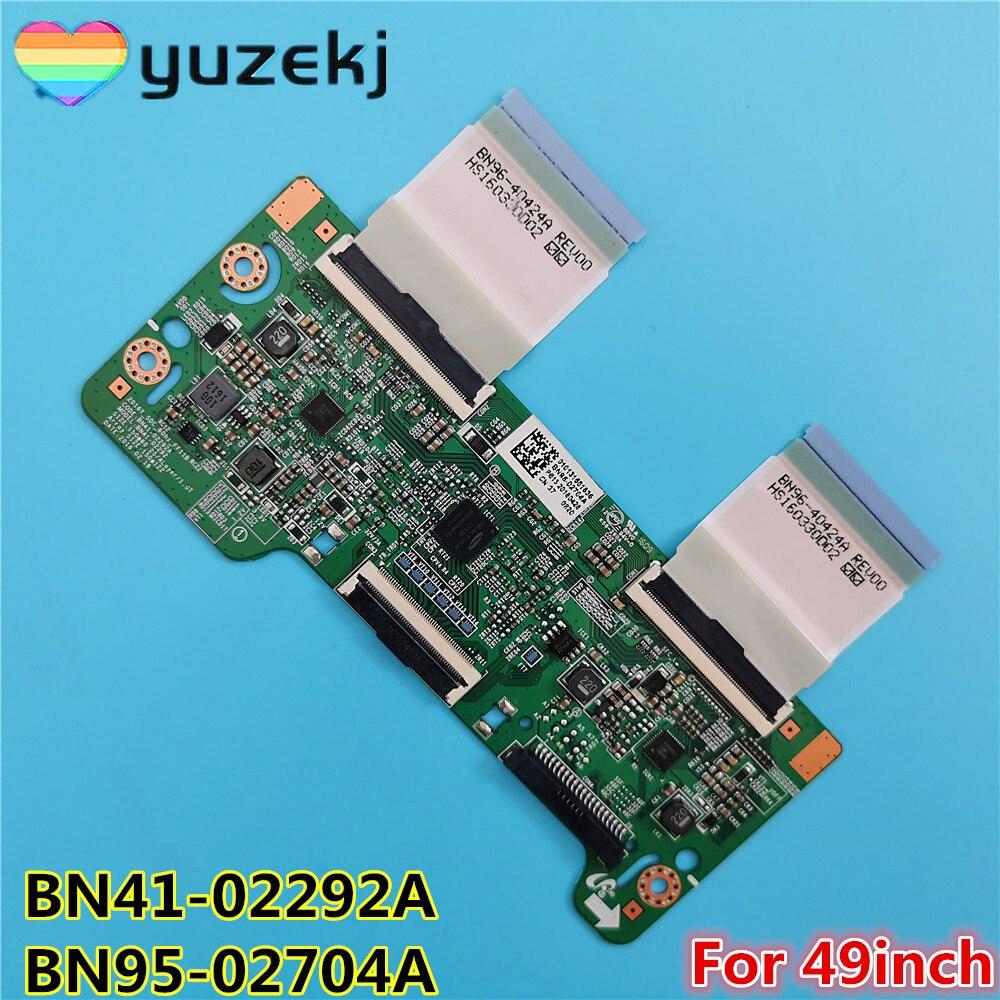 Free shipping Good test T-CON Logic Board BN41-02292A BN95-02704A For  HG49EE670DK UE49M5520AK UN49M6300AF UE49K5600AK недорого