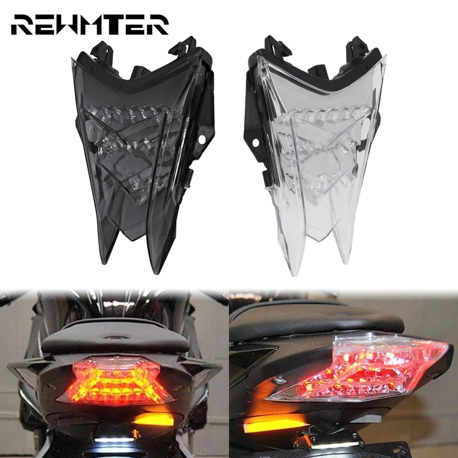 مصباح إشارة الفرامل والانعطاف للدراجة النارية, ضوء فرامل خلفي LED مدمج بضوء إشارة الانعطاف وخلفي 12 فولت لدراجة BMW HP4 S1000R S1000RR 2009-2020