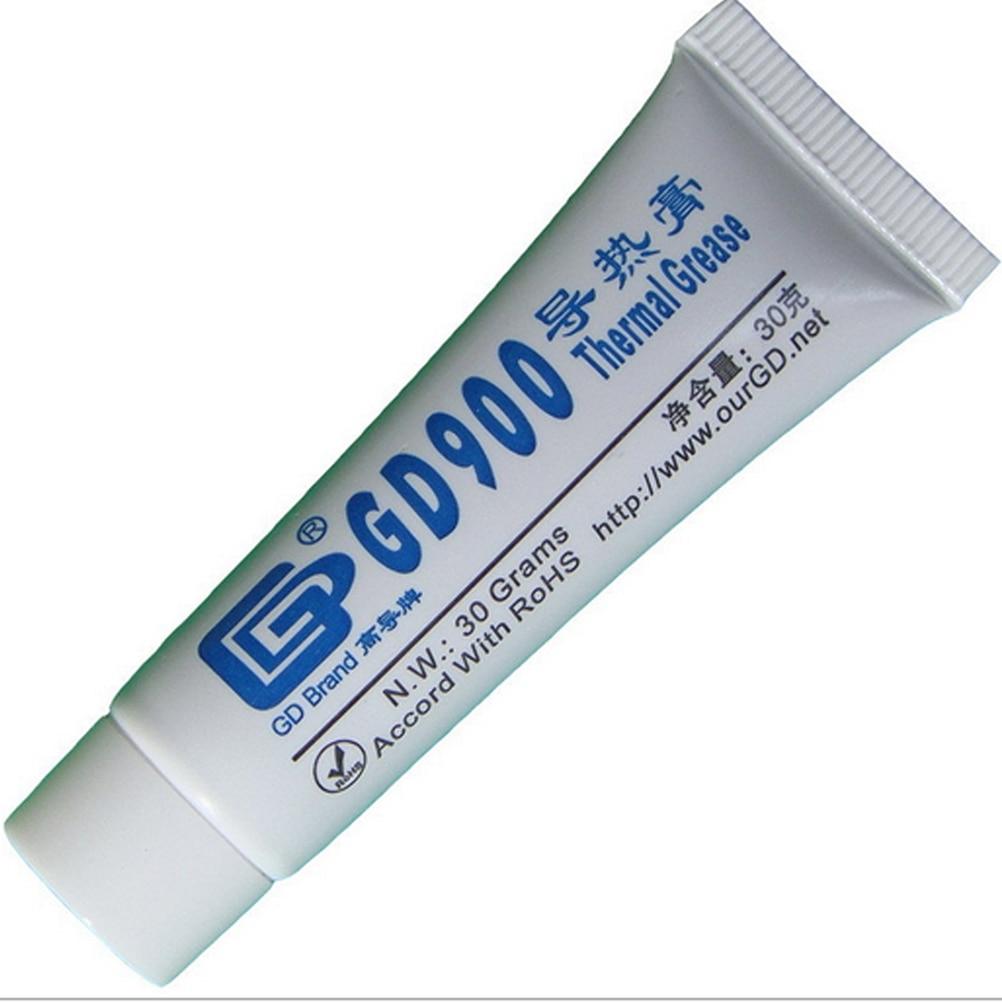 30 г GD900 Термальность смазка радиатора GD900 Термальность паста для процессоры ЦПУ штукатурка для радиатора с водяным охлаждением охладитель