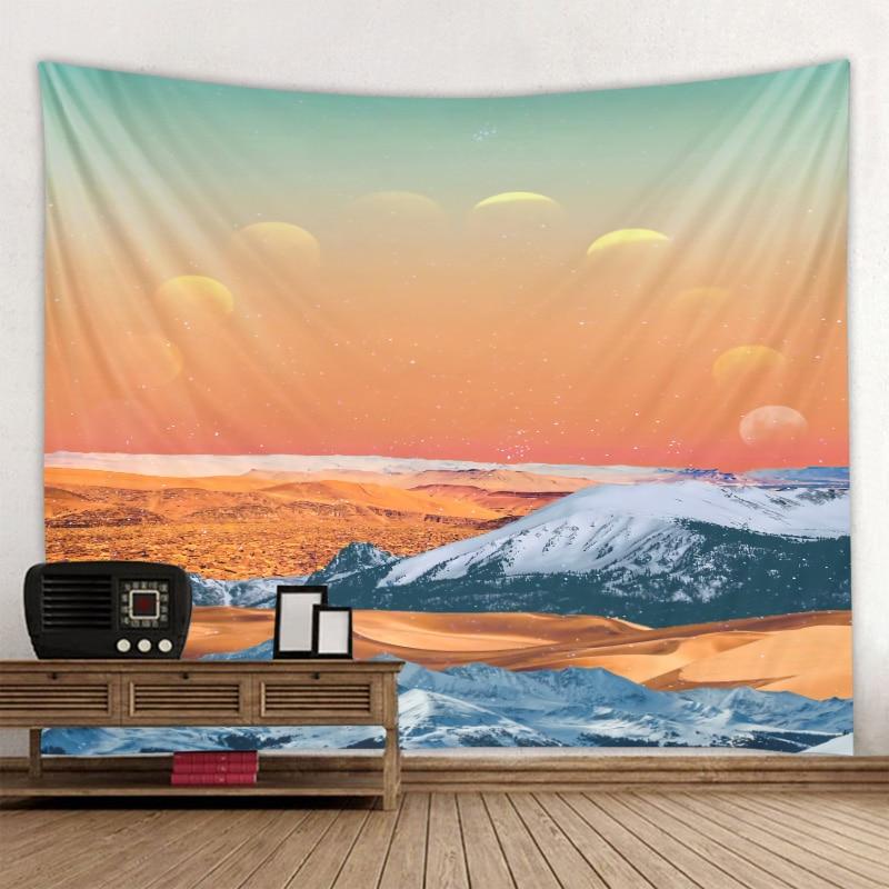 Пейзажи иллюстрации гобелены Защита от солнца психоделический гобелен кружевное платье в стиле хиппи, МАНДАЛА ГОБЕЛЕН в богемном стиле Сем...