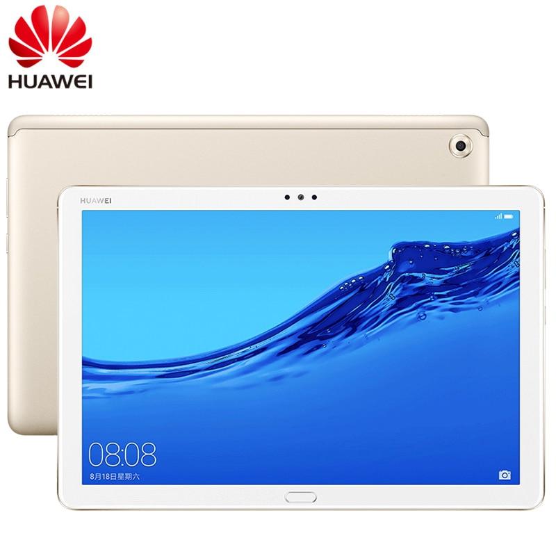 PC de mesa tipo C, ROM Global, 10,1 pulgadas, HUAWEI MediaPad M5 Lite 4G LTE, llamada telefónica, Android 8,0, Octa Core, 4GB RAM, 64GB/128GB ROM