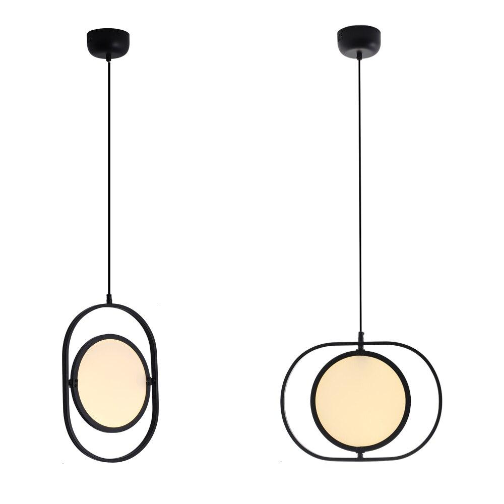 Zerouno-مصباح معلق Led 100-240 فولت ، تصميم عصري مبسط ، إضاءة زخرفية داخلية ، حديد
